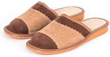 e44432fa46b6 Vlnka manufacture s.r.o. Dámske kožené šľapky Letné Veľkosti obuvi -  dospelí  36