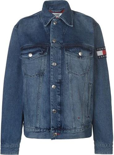 1b4b1cd8d8 Dámská džínová bunda Tommy Hilfiger Jeans Oversized Trucker - Glami.sk
