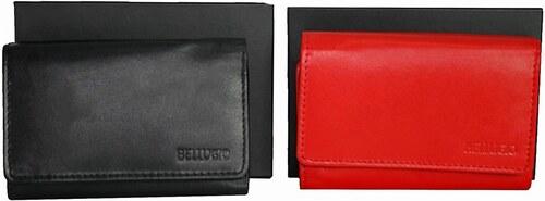 9bf344db07 Tenká dámska peňaženka Bellugio - červená AD-10-079-1134 1696 - Glami.sk