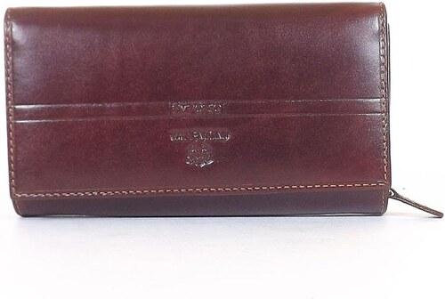 33900e3309 EMPORIO VALENTINI női bőr pénztárca barna színű - Glami.hu