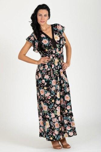 f141c7d7e5a2 fashion´s first Maxi šaty Kvetinová Vitráž