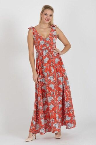 9a380357aa57 fashion´s first Maxi šaty Pomaranč