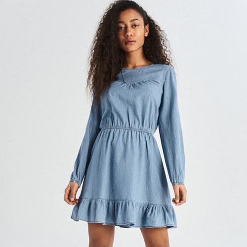 310773300012 Sinsay - Džínsové šaty - Modrá - Glami.sk