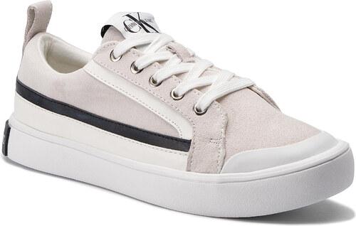 fc686c7bc Nové Sneakersy CALVIN KLEIN JEANS - Dino S0613 Bright White/White/Black