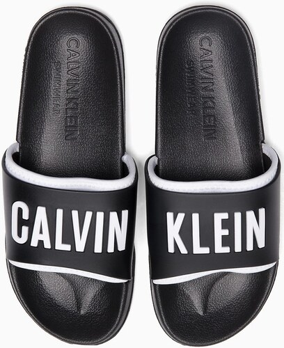 524b443309 Calvin Klein fekete papucs Slide Intense Power - Glami.hu