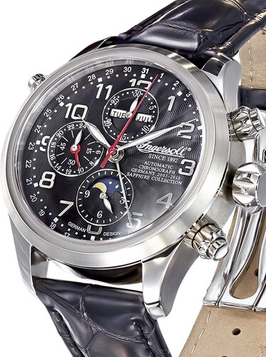 af7cd725b Pánské hodinky Ingersoll IN6110BK Cook - Glami.cz