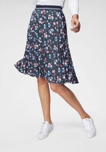 ee6c4a4b37 Tom Tailor Skládaná sukně námořnická modrá-květinová s potiskem ...