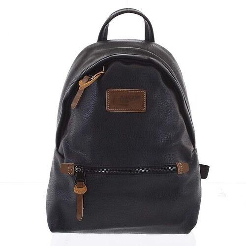 5e248731d3 -15% Dámsky mäkký moderný mestský ruksak čierny - David Jones Deziree čierna