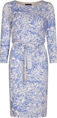 ca394b87a21c Pietro Filipi Dámské šaty s modrobílým potiskem květin (L) - Glami.cz