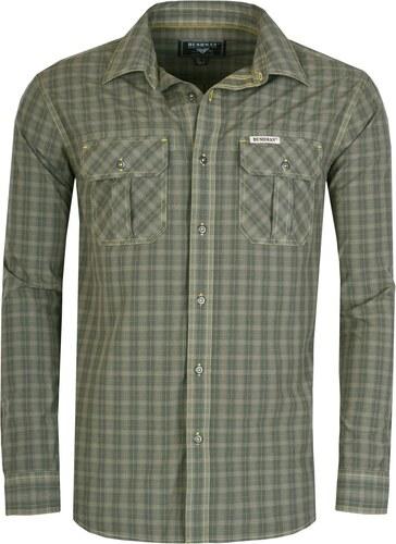 c50fb85d2 Pánska košeľa BUSHMAN FARUN zelená L - Glami.sk