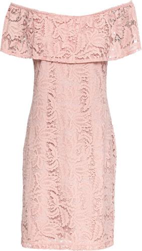 013baeb2d Bonprix Čipkované šaty s Carmen výstrihom - Glami.sk
