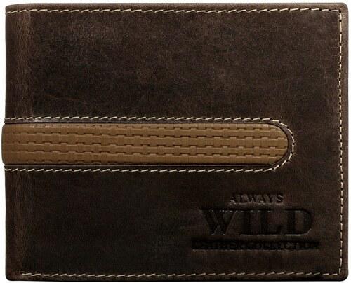 847a732c93 Divatos sötét barna pénztárca - Glami.hu