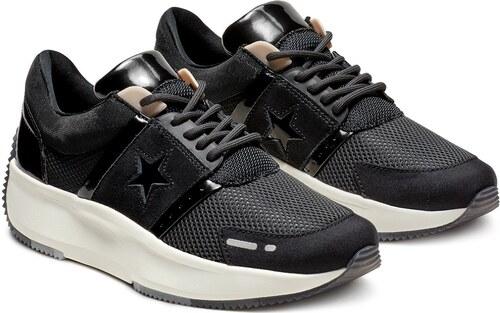1eef3933ecfd Converse čierne tenisky na platforme Run Star - Glami.sk