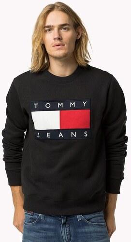21058c3b86a Tommy Hilfiger Pánská mikina TOMMY JEANS - černá - Glami.cz