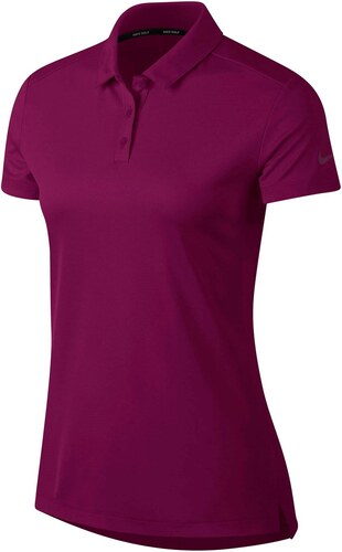 c8175233cb Nike Dry Polo Short Sleeve Golf Polo Shirt Ladies True Berry - Glami.cz