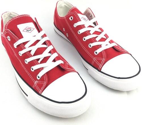 f3636721a0 Dámské boty Lee Cooper Canvas Červené - Glami.sk