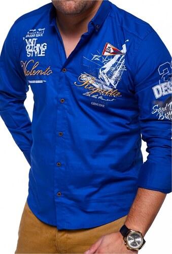 998e7c51beae MyTrends Pánská košile Slim Fit REGATTA model RH-441 - Glami.cz