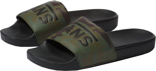838d3cee48 VANS Pánske šľapky Slide -On (Camo) Black Green - Glami.sk