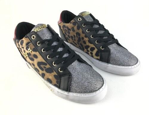 7dad6cbc5 Dámské boty Guess Pressure Leopard - Glami.cz