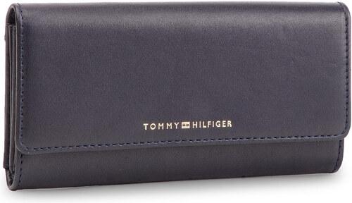 ce3d828bfe Veľká Peňaženka Dámska TOMMY HILFIGER - Classic Leather Lrg Za W Flap  AW0AW06895 413