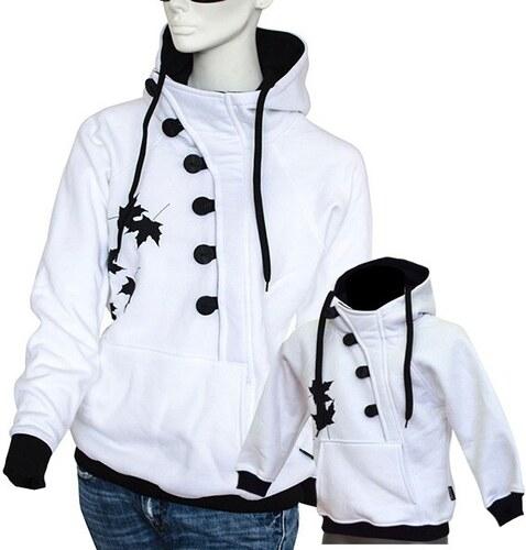 8d3e32508f5a Barrsa Button + Button Kids W B - Dámská + dětská mikina s kapucí přes