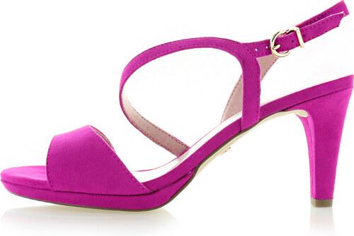 c0bcb4b33033a Tamaris Fuchsiové sandále 1-28318 - Glami.sk