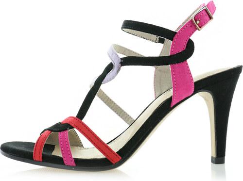 2ac37b0467ec s.Oliver Viacfarebné sandále 5-28303 - Glami.sk