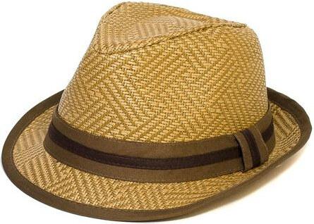 1e8636205 Letný klobúk farba hnedá Assante 161236 - Glami.sk
