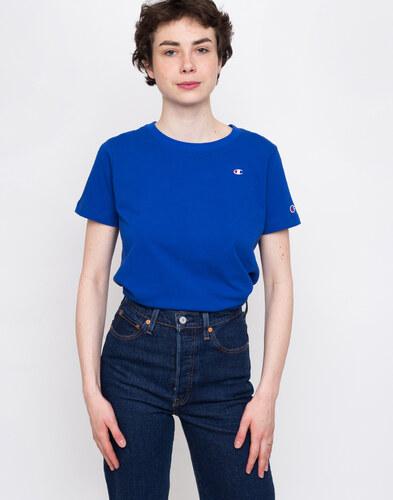 402789d7f9 Champion Crewneck T-Shirt Nautical Blue - Glami.sk