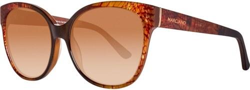 9d35fef9a Guess by Marciano slnečné okuliare hnedé - Glami.sk