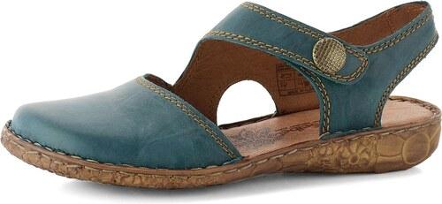 a8ff3477a175 Josef Seibel sandály s plnou špičkou tyrkysové 7952795 - Glami.cz