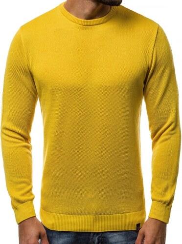 cf000b0d55 Sárga férfi pulóver OZONEE B/2433 - Glami.hu