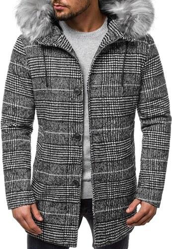 e08052afbf Stílusos mintás kabát OZONEE O/88871 - Glami.hu