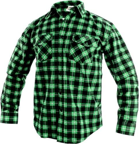 b166f14f41dd Canis Pracovná flanelová košeľa TOM - Glami.sk