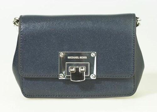 d2f2e2b2c Kabelka Michael Kors Tina Mini Crossbody Bag Saffiano Leather Navy ...