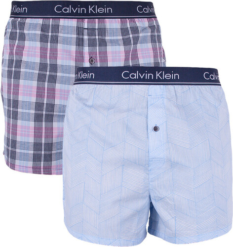0434b4ed49 2PACK pánské trenky Calvin Klein slim fit vícebarevné (NB1544A-ZDS ...