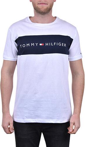 0f2ecb36e9 Tommy Hilfiger Pánske tričko Tommy Original Cn Ss Tee Logo Flag  UM0UM01170-100 White