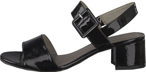 6976c2405aea0 Tamaris Dámske sandále 1-1-28211-22 -018 Black Patent - Glami.sk