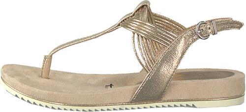 df20bef524d6 Tamaris Dámske sandále 1-1-28107-22-952 Rose Metallic - Glami.sk