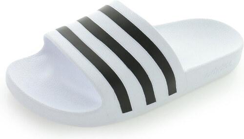 33102bd958492 adidas PERFORMANCE Dámske čierno-biele šľapky Adilette Aqua - Glami.sk