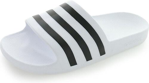 93e5a2031 adidas PERFORMANCE Pánske čierno-biele šľapky Adilette Aqua - Glami.sk