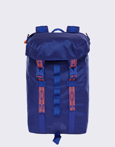 aa9a68d3cf The North Face Lineage Ruck 23 l Aztec Blue  Persian Orange - Glami.sk
