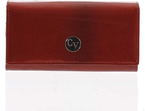 1f1d1ee072 Dámska elegantná kožená peňaženka červená - Cavaldi H271 červená ...