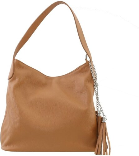 a7deeee16e ... TALIANSKE Talianska medová veľká kožená kabelka cez rameno shopperka  Fabiola