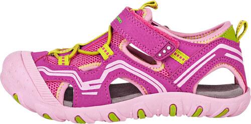 e5ebf976537a Dětská letní obuv Alpine Pro CARNEO - růžová - Glami.cz