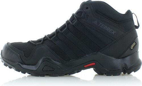2c68355f51ca adidas PERFORMANCE Pánske čierne členkové trekingové topánky Terrex AX2R  Mid GTX