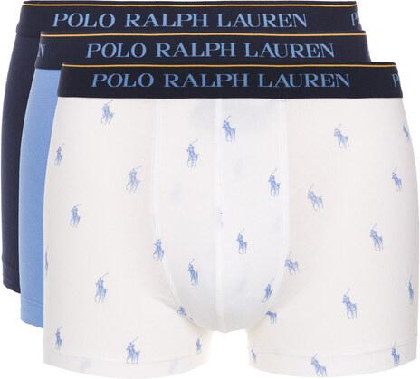 775df10518 Polo Ralph Lauren Boxerky 3 ks Modrá Bílá - Glami.cz