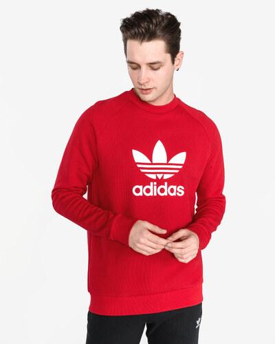 79f16951d4df Férfi adidas Originals Trefoil Melegítő felső Piros - Glami.hu