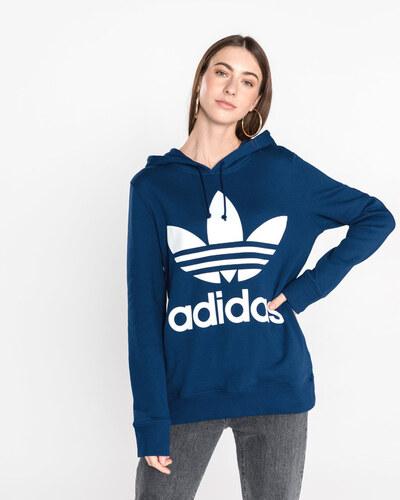 33b9993795ef Női adidas Originals Trefoil Melegítő felső Kék - Glami.hu