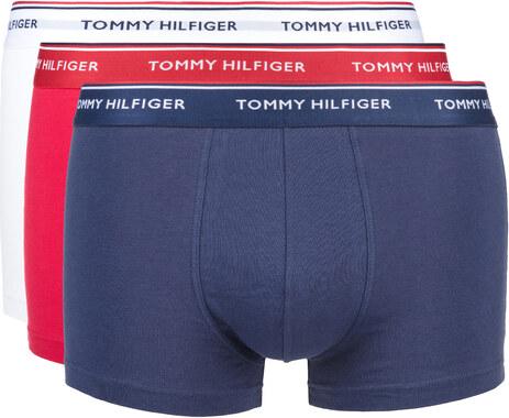 2177f382d Tommy Hilfiger Boxerky 3 ks Modrá Bílá - Glami.cz